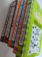 Used DIARY OF WIMPY KID 7 book collection in Dubai, UAE