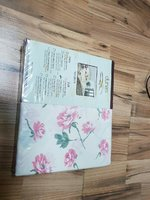 Used 3 pcs bed sheet pink flowers in Dubai, UAE