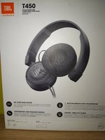 JBL T450 headphones bass (use like new)