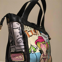 Tous Comic Holiday Hand Bag Preloved