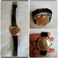 Used Authentic Antique Gold old  OMEGA watch in Dubai, UAE