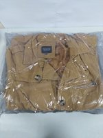 Slim warm Jacket, Dark Brown, XL