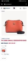 Used Tommy hilfiger Authentic CROSSOVER BAG in Dubai, UAE