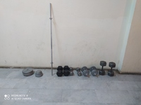 Used Gym equipment total-125kg in Dubai, UAE