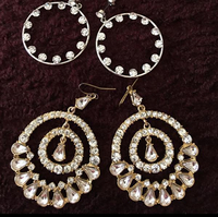 3 Fashion Earring And Bangle