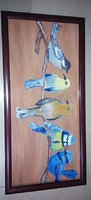 Used New Beautiful birds Painting with frame  in Dubai, UAE