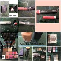 Used Make Up - Laura Mercier, Nars, Christian Dior, Maybelline And More- All For 420 in Dubai, UAE