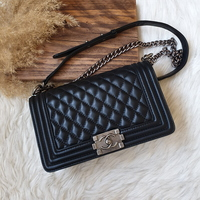 Used Chanel le boy quilted bag in Dubai, UAE