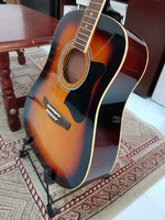 Used Guitar Ibanez Acoustic with Box in Dubai, UAE