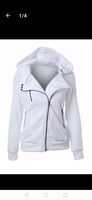 Used White Shirt Neck Hoodie and sweatshirt. in Dubai, UAE