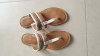 Used Tommy Hilfiger flat sandals in Dubai, UAE