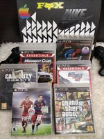 Used PLAYSTATION 3 2 CONTROLLERS 6 GAMES in Dubai, UAE