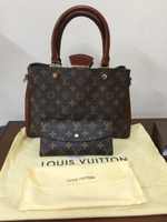 Used Louis Vuitton Bag overrun and Wallet,  in Dubai, UAE