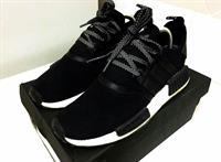 AUTHENTIC ADIDAS NMD RUN (BLACK) US 8.5 EURO 42; used Once for Malling Only
