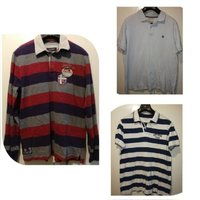 Used 3 branded polo shirts for price of 1 XL in Dubai, UAE
