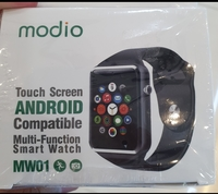 Used . Smart watch new. Black in Dubai, UAE