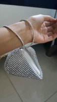 Used Beautiful silver clutch and hand bags in Dubai, UAE