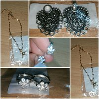 Used Drop Earings, Anklets,Collar accessories in Dubai, UAE