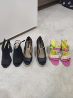 Used Woman shoes size 40, set of 3 pairs in Dubai, UAE