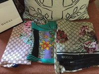 Lot of 3 gucci scarves brand new