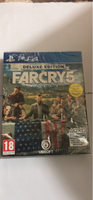 Used Ps4 far cry 5 deluxe edition  in Dubai, UAE