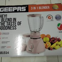 Used GEEPAS 3in1 BLENDER 400W in Dubai, UAE