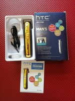 Used Rechargeable hair trimmer Gold HTC NEW in Dubai, UAE