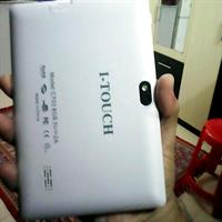 Used Two Tablet Offer White I Touch Geniun Tablet With Pure Leather Cover  in Dubai, UAE