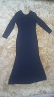Used MANGO Premium Navy Blue Maxi Long Dress in Dubai, UAE