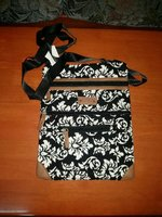 Quilted Cotton Sling Bag