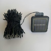 Used 100 LEDs 12m white solar lights - 2pcs in Dubai, UAE