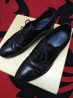 Leather black Shoes - US 8
