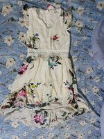 Used Cute girl dress patpat for 6 -7 years in Dubai, UAE