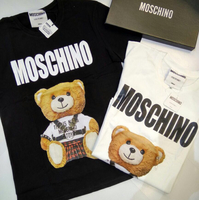 Moschino Bear Shirt Comes In A Box And A Paper Bag , Sizes Available
