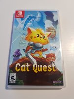 Used CAT QUEST🎮 GAME FOR SWITCH LIKE NEW💎 in Dubai, UAE