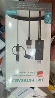 Used 3 in 1 HDMI cable for tv in Dubai, UAE