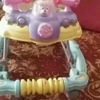 Gud Condition Baby Walker N Rocker Hardly Used