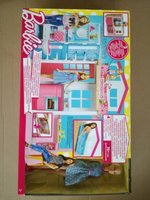 Used Barbie Two Story Doll House with Doll in Dubai, UAE