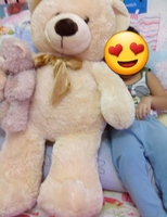 Used Huge stuffed bear with attached babybear in Dubai, UAE