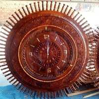 Used Wooden hand carved wall clock in Dubai, UAE