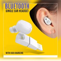 Used New single earbud rechargable bluetooth in Dubai, UAE