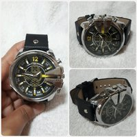 Used Brand new- black watch for Men's in Dubai, UAE