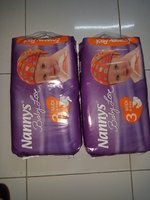 Used Nannys baby diapers from Cyprus 100 pcs in Dubai, UAE