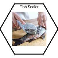 Used Fish scaler plus cleaning brush n cup in Dubai, UAE