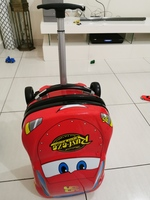 Used Mcqueen kids luggage bag in Dubai, UAE