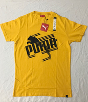 Used 2BS0135 PUMA Men's Shirt (Yellow) in Dubai, UAE