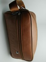 Used Montbanc handbag for me brown in Dubai, UAE
