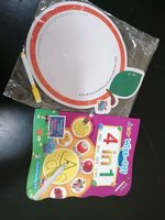 Used Write & wipe book, white board and marke in Dubai, UAE