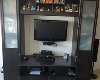 Used TV WALL UNIT FOR SALE EXCLUDING TV N OTHER ITEMS in Dubai, UAE