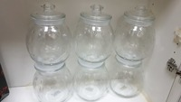Used 6 big glass jars in Dubai, UAE